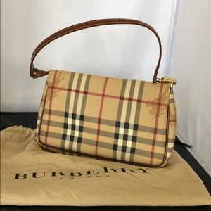 Authentic Burberry print mini bag